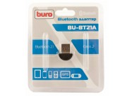 Адаптер USB Buro BU-BT21A Bluetooth 2.1+EDR class 2 10м черный